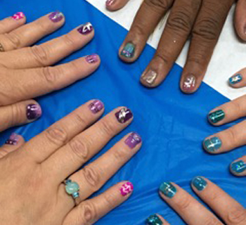 Drink Draw Nail Art Party